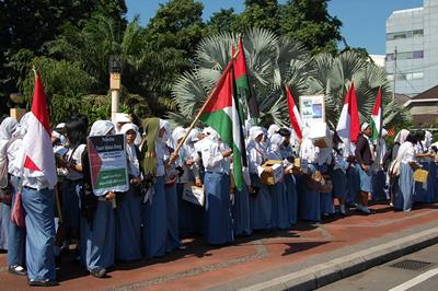 Aksi Pelajar Surabaya